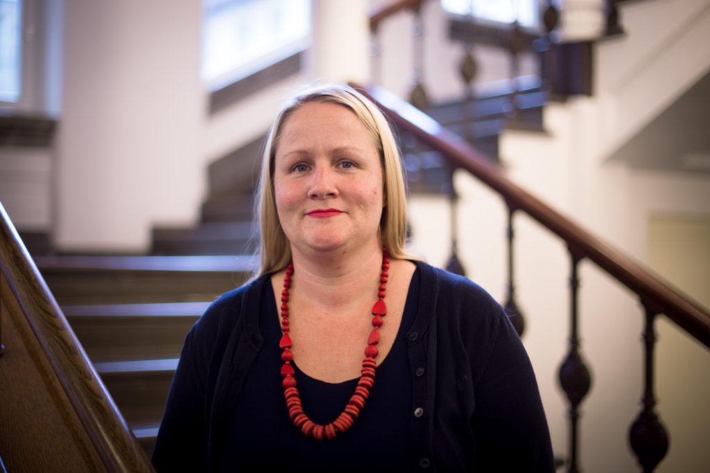 Anna-Lena Hogerud - nyvald ordförande för Socialdemokraterna i Lund
