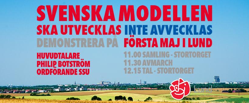 Demonstrera på Första maj!